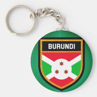 Burundi Flag Keychain