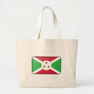 Burundi Flag Large Tote Bag