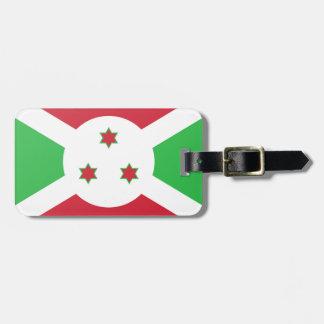 Burundi Flag Luggage Tag