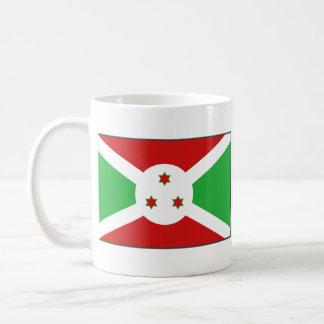 Burundi Flag ~ Map Mug