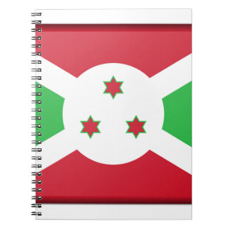 Burundi Flag Notebook