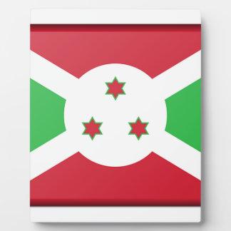 Burundi Flag Plaque