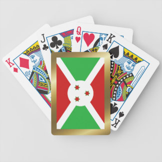 Burundi Flag Playing Cards