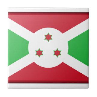 Burundi Flag Tile