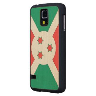 Burundi Flag Carved® Maple Galaxy S5 Case