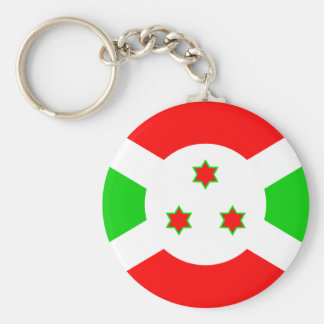 Burundi High quality Flag Keychain