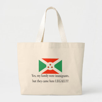 Burundi Jumbo Tote Bag