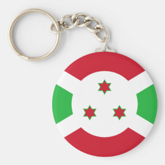 Burundi National World Flag Keychain