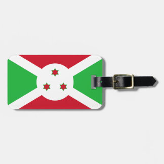 Burundi National World Flag Luggage Tag