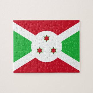 Burundi National World Flag Puzzle
