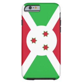 Burundi National World Flag Tough iPhone 6 Case
