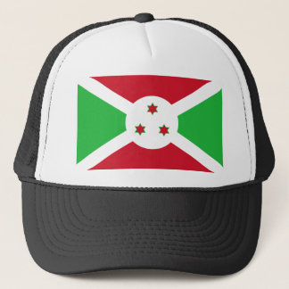 Burundi National World Flag Trucker Hat