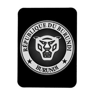 Burundi Round Emblem Magnet