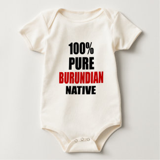 BURUNDIAN NATIVE BABY BODYSUIT