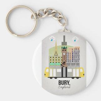 Bury Keychain