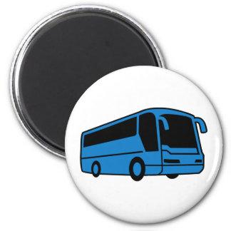 Bus 2 Inch Round Magnet