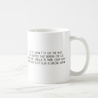 Bus Aide Day By Day Coffee Mug