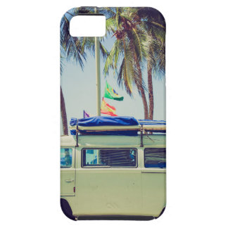 Bus Beach Vacation Case For The iPhone 5