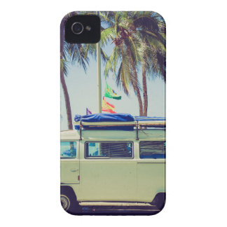 Bus Beach Vacation Case-Mate iPhone 4 Case