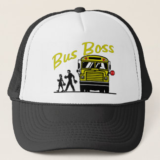 Bus Boss Female Driver Trucker Hat