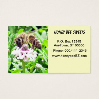 Bus. Card - Honey Bee