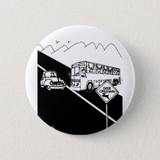 Bus Cartoon 3251 2 Inch Round Button