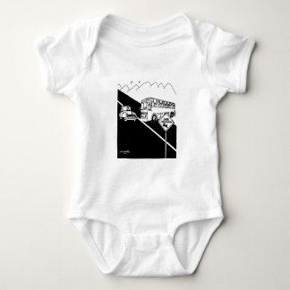 Bus Cartoon 3251 Baby Bodysuit