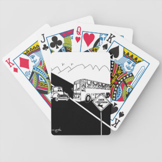 Bus Cartoon 3251 Bicycle Playing Cards