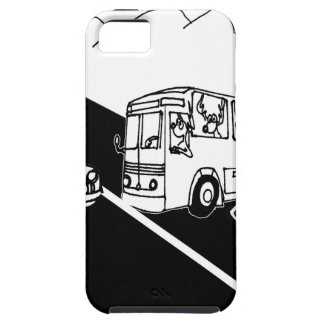 Bus Cartoon 3251 iPhone 5 Cases