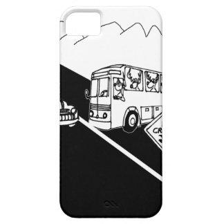 Bus Cartoon 3251 iPhone 5 Cover