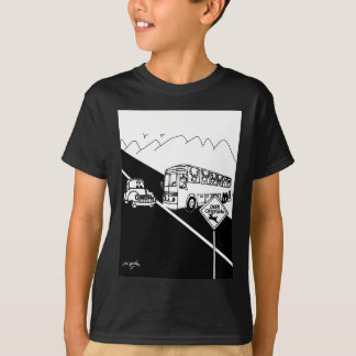 Bus Cartoon 3251 T-Shirt