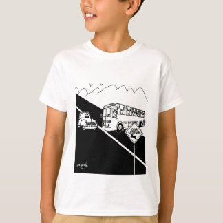 Bus Cartoon 3251 T-Shirt
