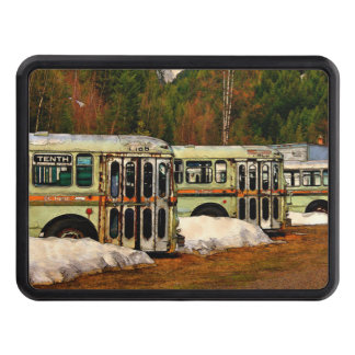 Bus Cemetery Trailer Hitch Cover