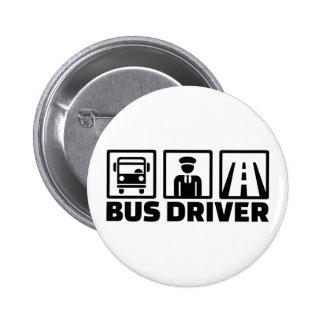 Bus driver 2 inch round button