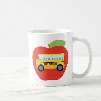 Bus Driver Apple Gift Coffee Mug