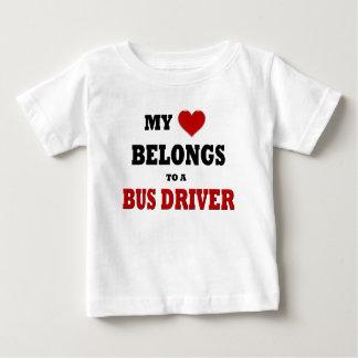 Bus Driver Baby T-Shirt