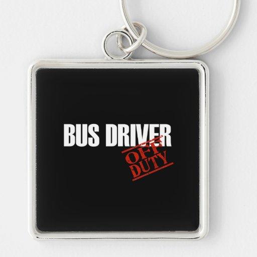 BUS DRIVER DARK KEYCHAIN