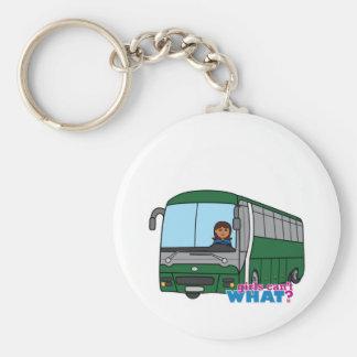 Bus Driver - Dark Keychain