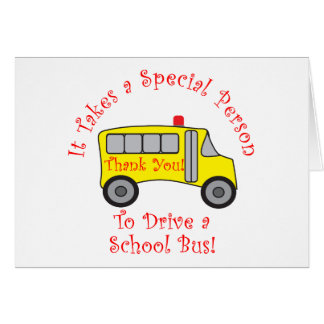 Bus Driver Greeting Cards