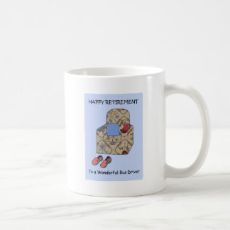 Bus Driver Happy Retirement Coffee Mug