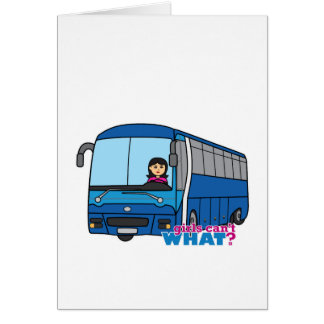 Bus Driver Medium Greeting Card