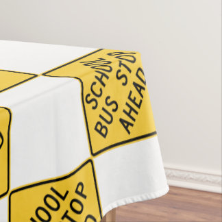 Bus driver tablecloth