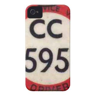 BUS DRIVER UK BADGE RETRO iPhone 4 CASE