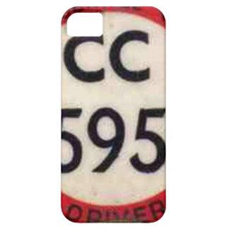 BUS DRIVER UK BADGE RETRO iPhone 5 CASES
