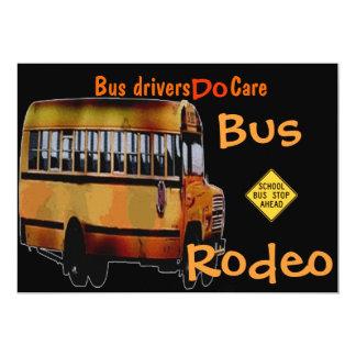 Bus Drivers Do Care 5x7 Paper Invitation Card