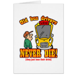 Bus Drivers Greeting Card