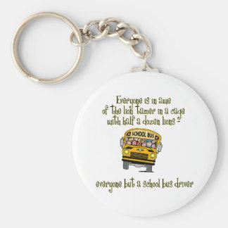 Bus Drivers Keychain
