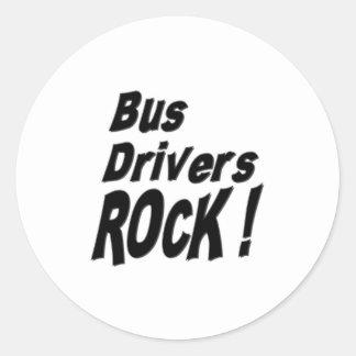 Bus Drivers Rock Sticker