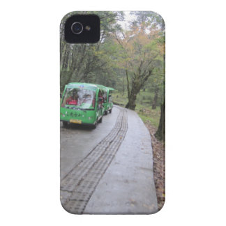 bus forest iPhone 4 cases