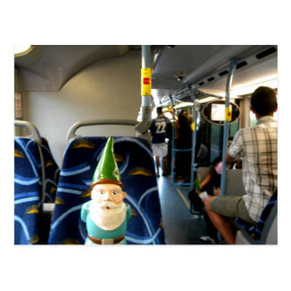 Bus Gnome Postcard
